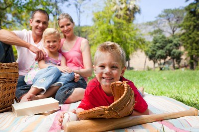 having-a-picnic-with-his-family
